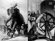 Apedrejado ou pisoteado por elefantes. Veja 10 tipos de pena de morte