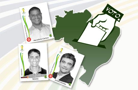 Candidatos boleiros nas Eleições 2014