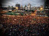 Mapa dos protestos das tarifas